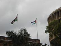 sadr-flag-at-newcastle-townre.JPG