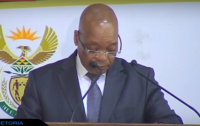 South African President Mr Jacob Zuma
