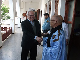 Meeting Christopher Ross, personal envoy for Western Sahara of the UN Secretary General