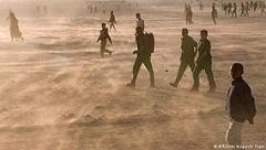 Sahrawi refugees . Copyright AFP/Getty Images/D.Faget